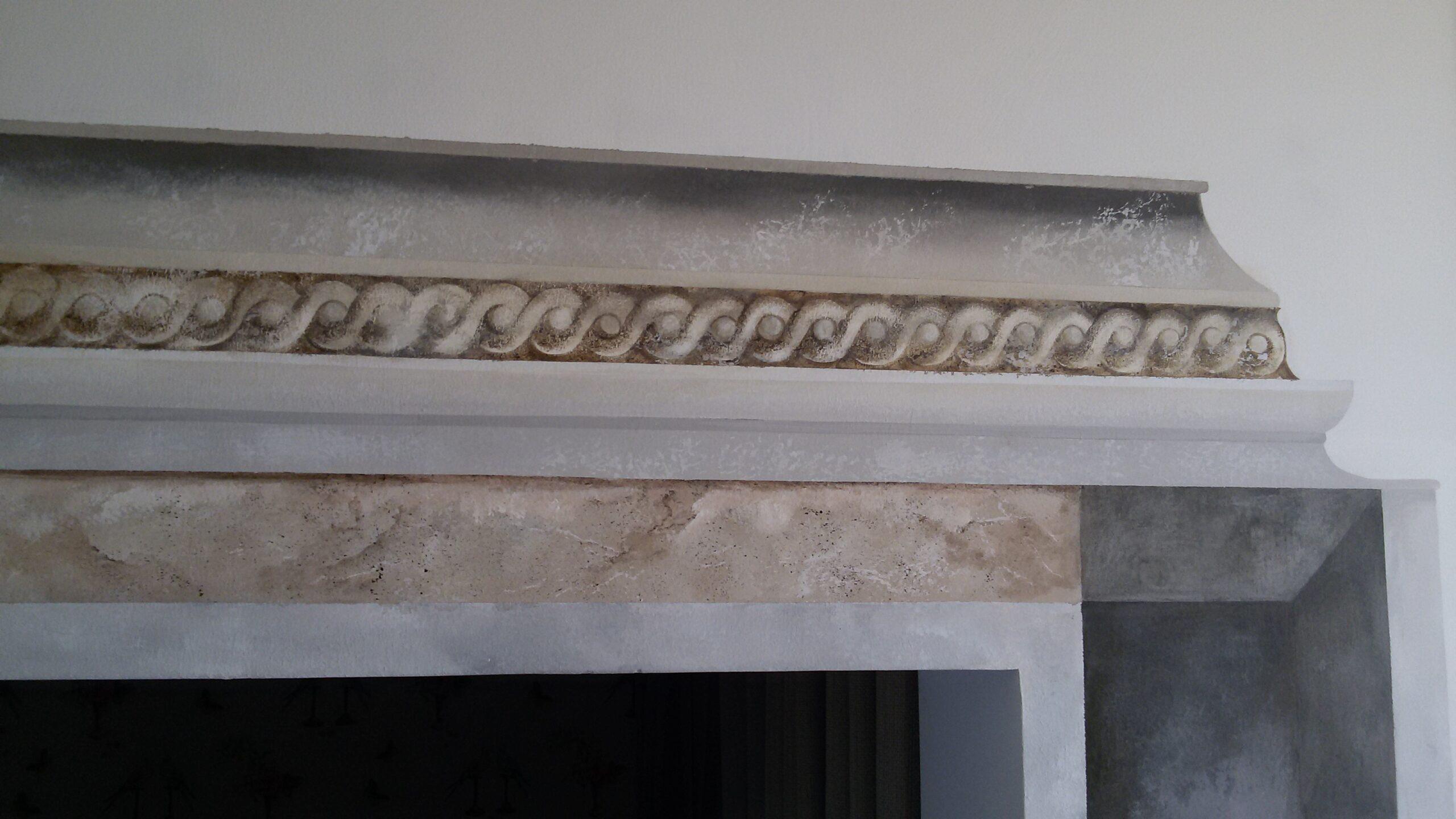 architrave colonne corinzie